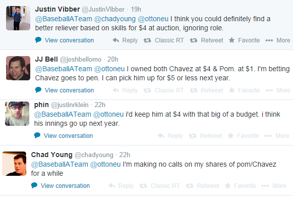 Chavez Tweets