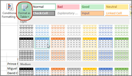 How to Create a Position Cheat Sheet in Excel | FanGraphs